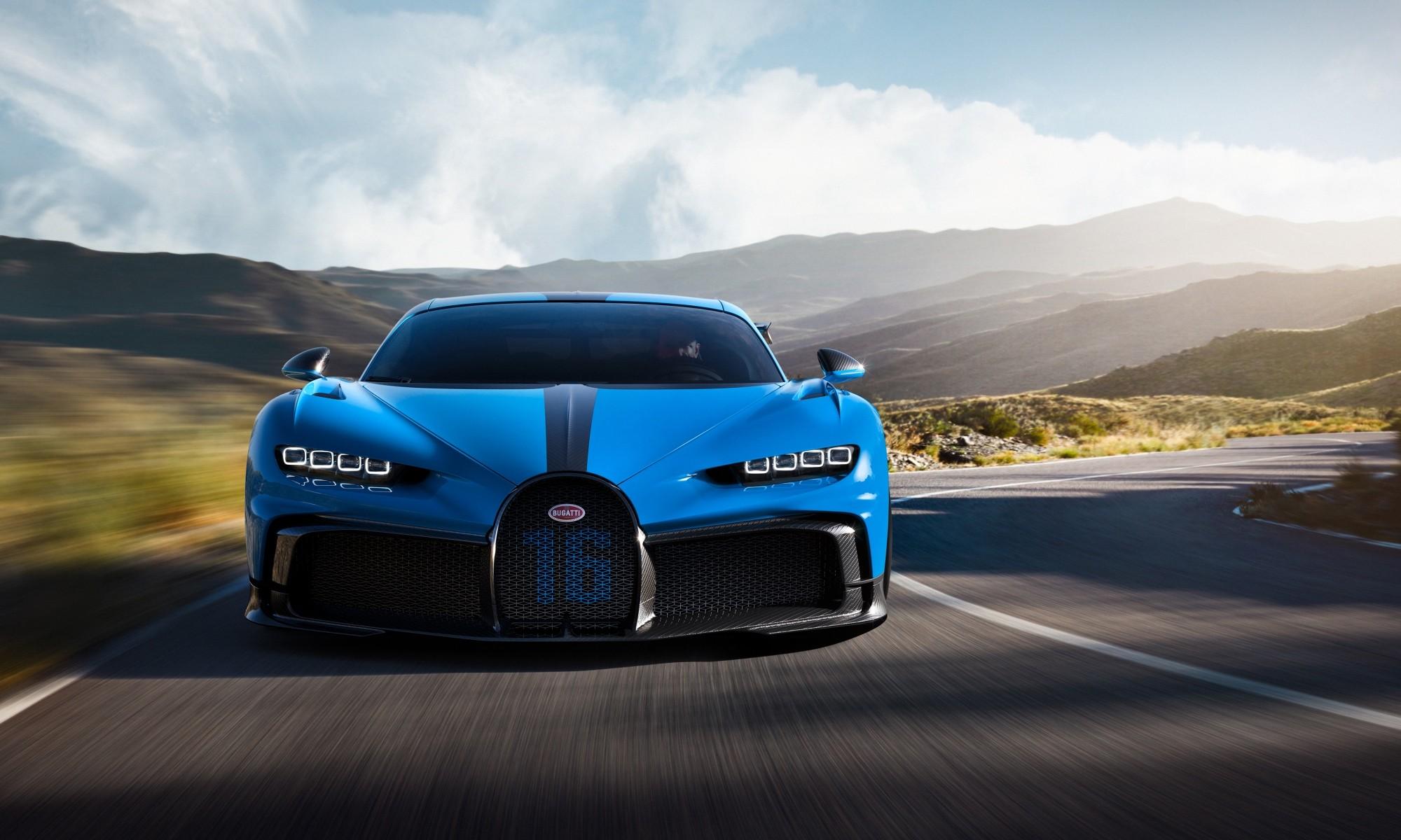 Bugatti Chiron Family Gathering