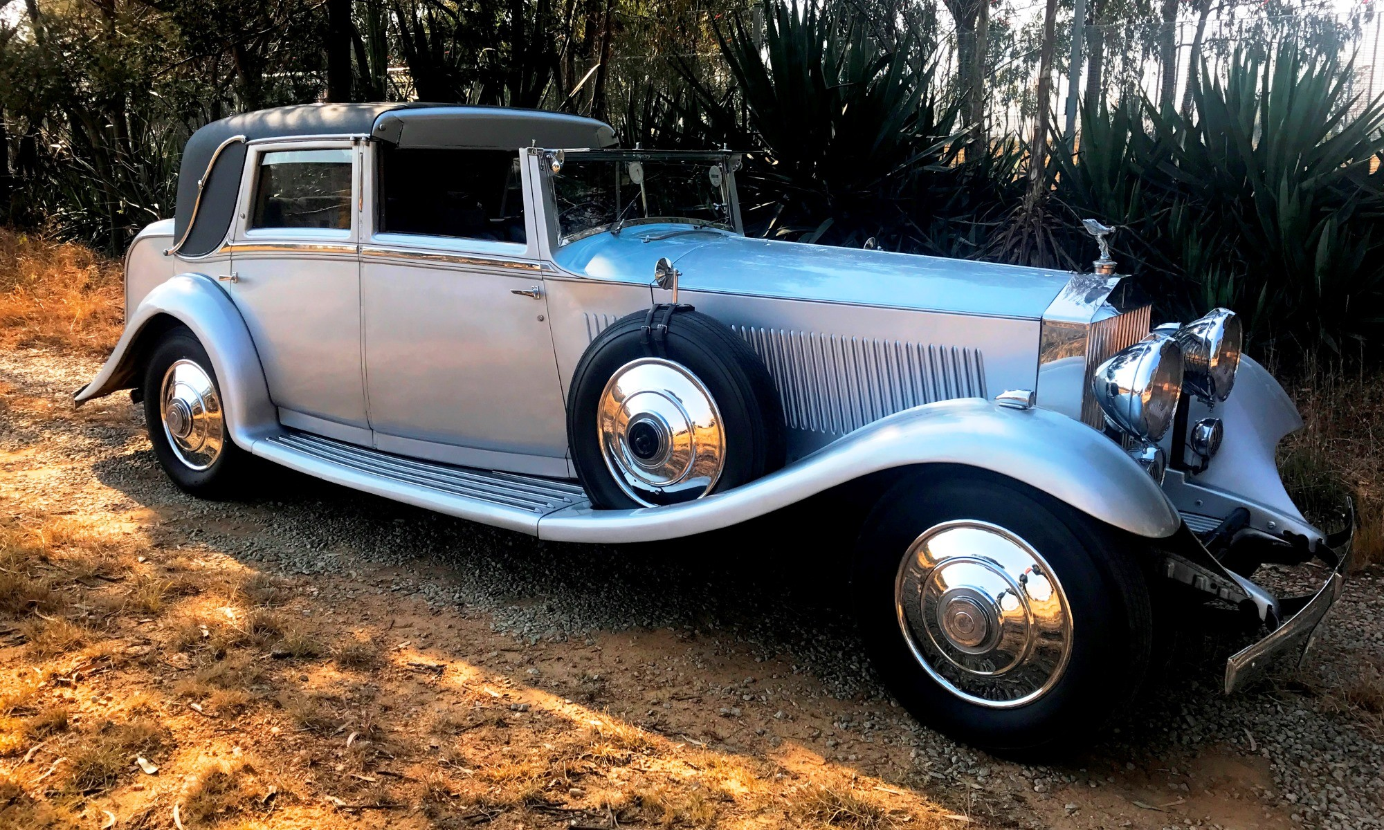 1934 Rolls-Royce Phantom II is one of the oldest cars on show