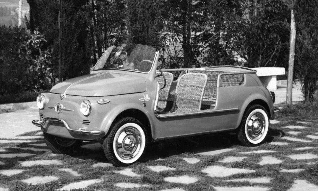 1958 Fiat 500 Jolly Spiaggina