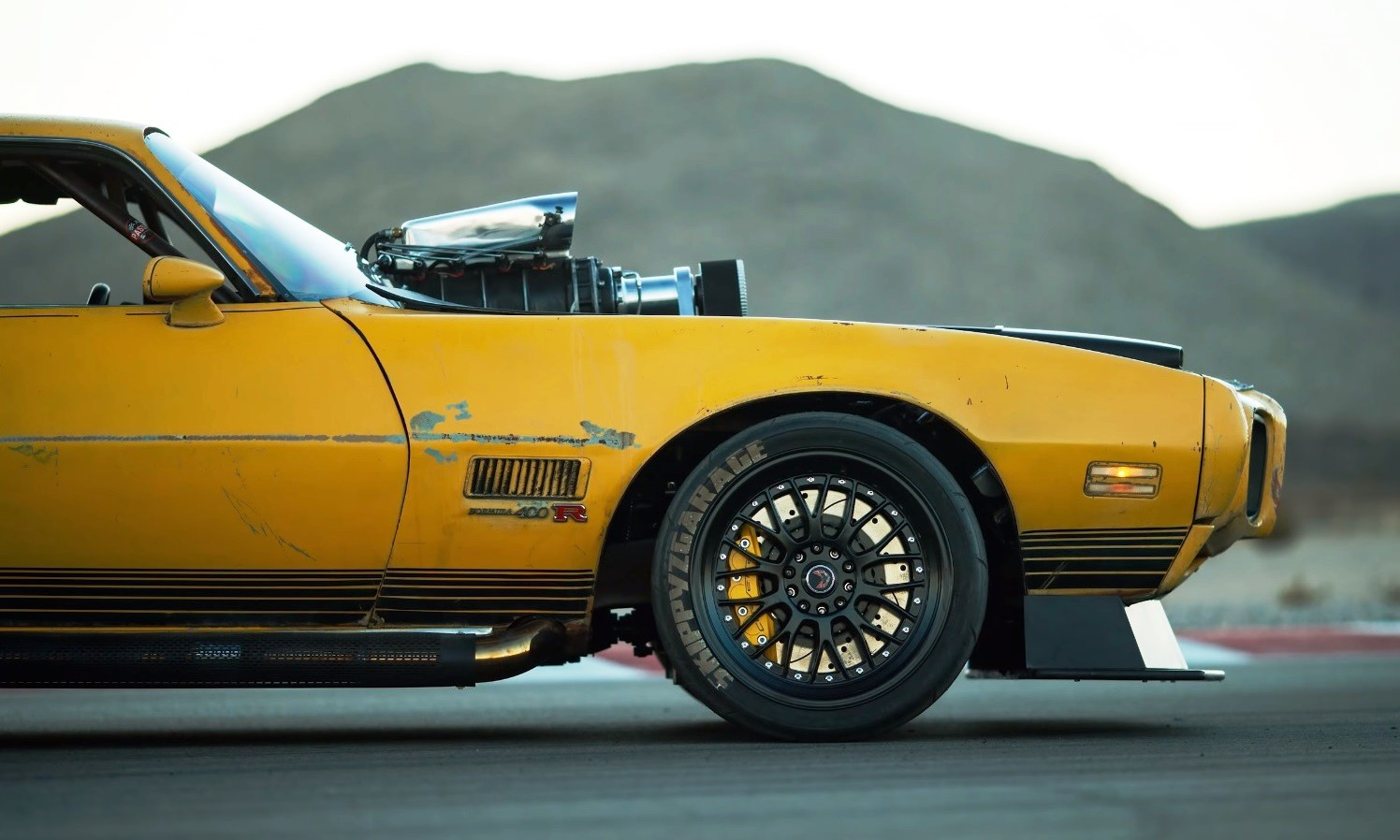 1971 AWD Supercharged Trans-Am nose