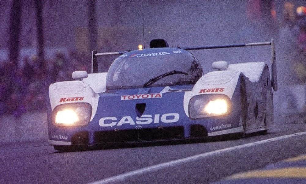 Toyota TS010 at Le Mans