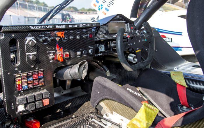 Evolution of Porsche Racecar Steering Wheels