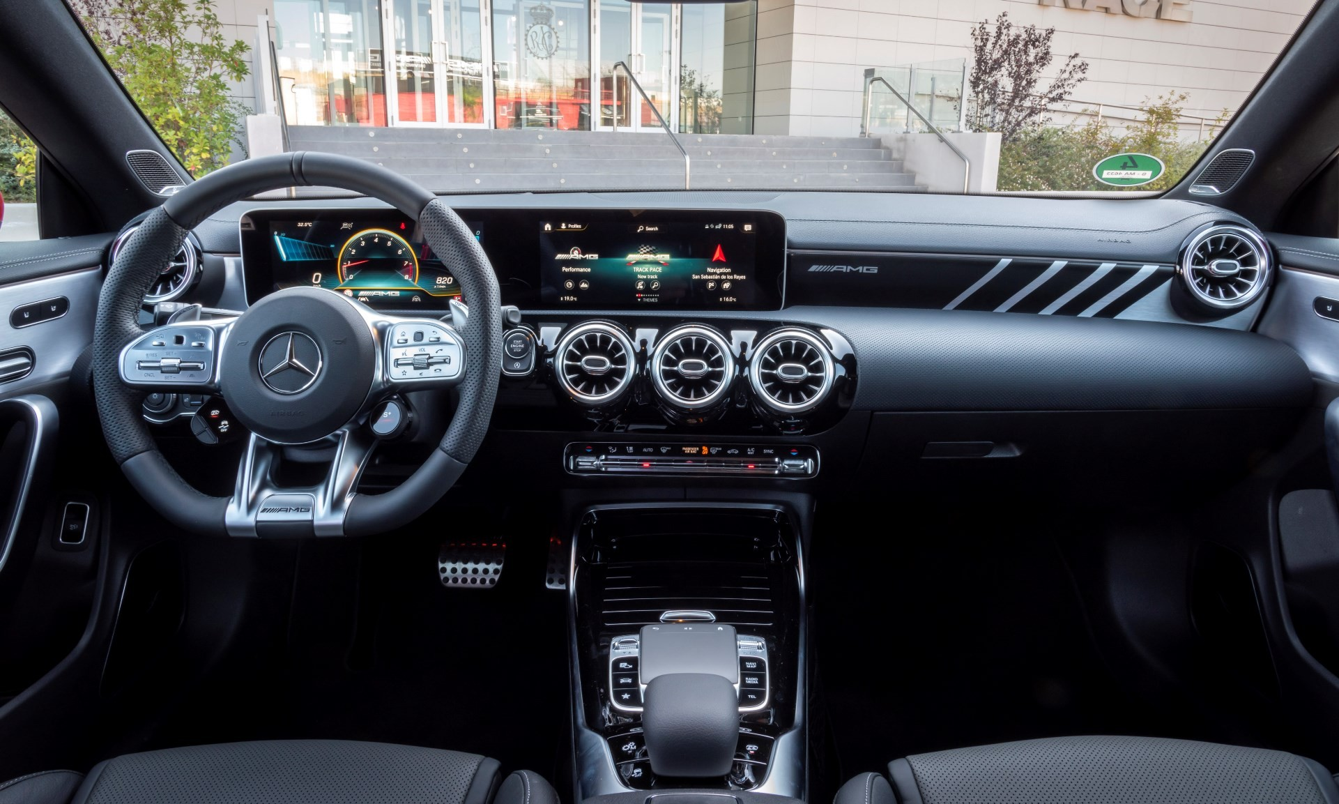 New Mercedes-AMG A45S interior