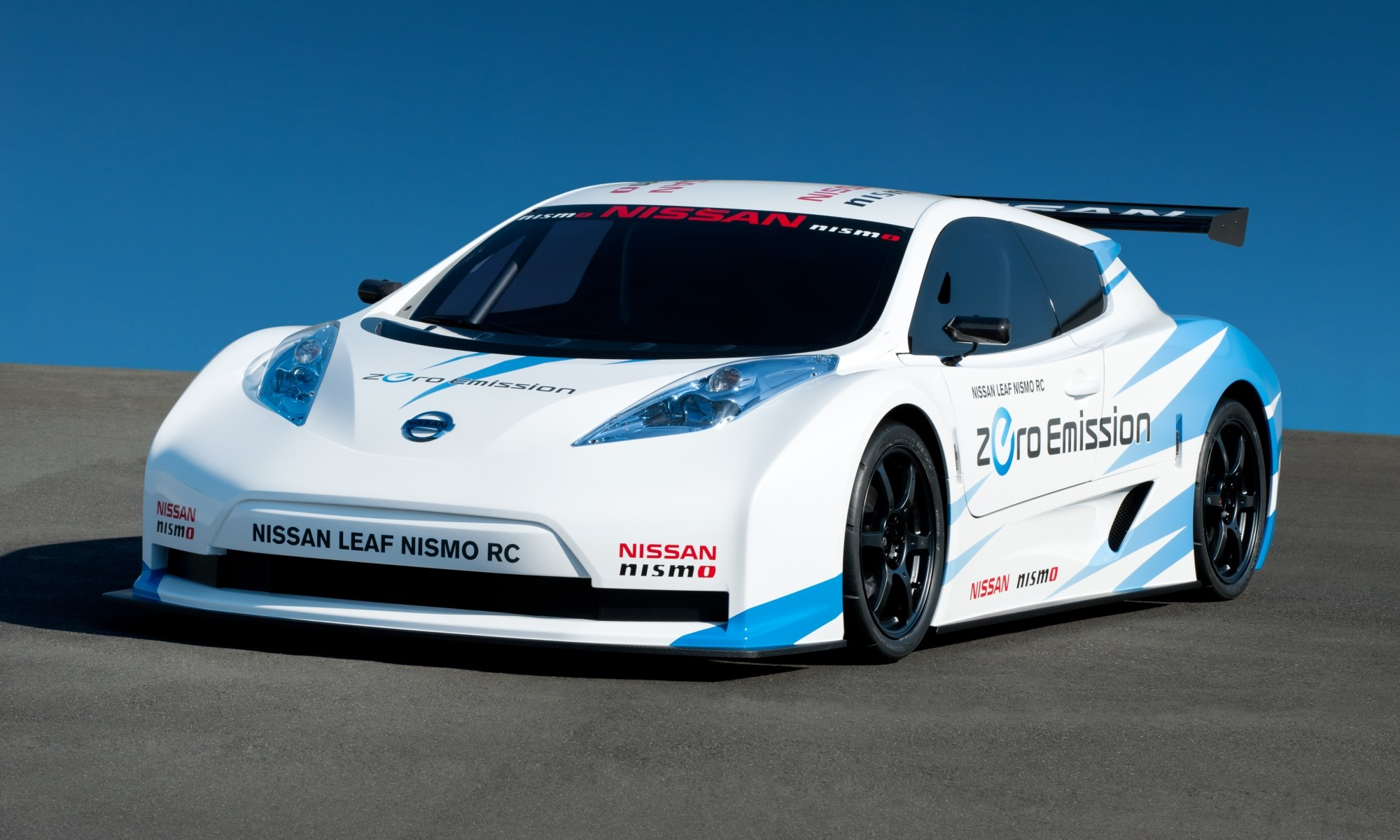 It's a Nissan Leaf, but not as we know it