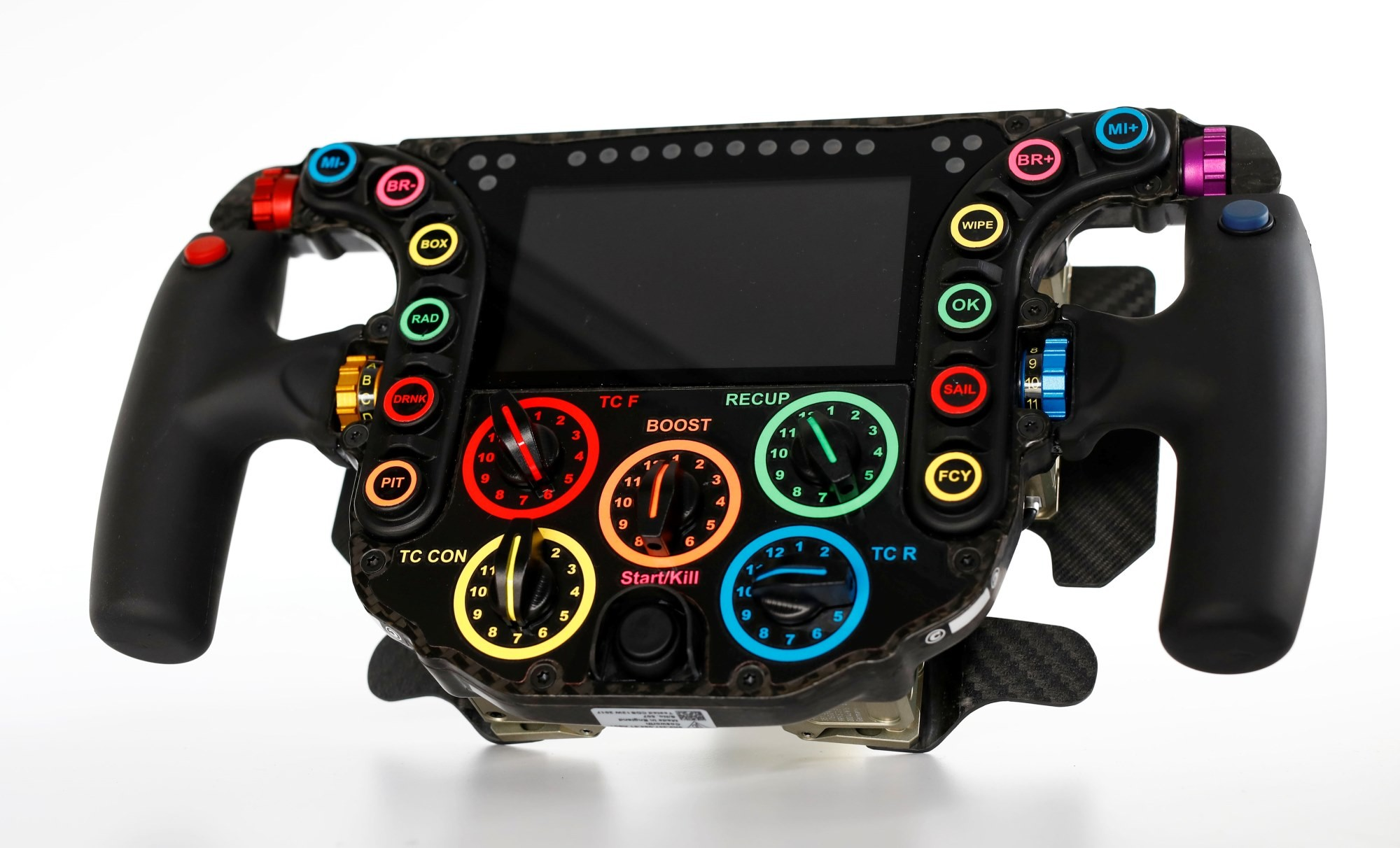 Evolution of Porsche Racecar Steering Wheels