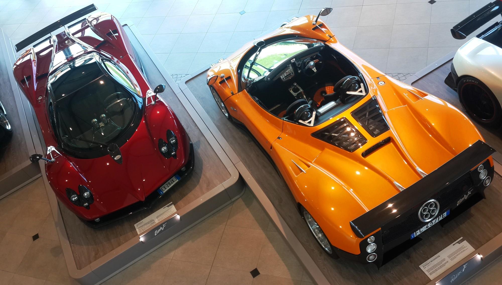 Zonda F Roadster and Zonda F