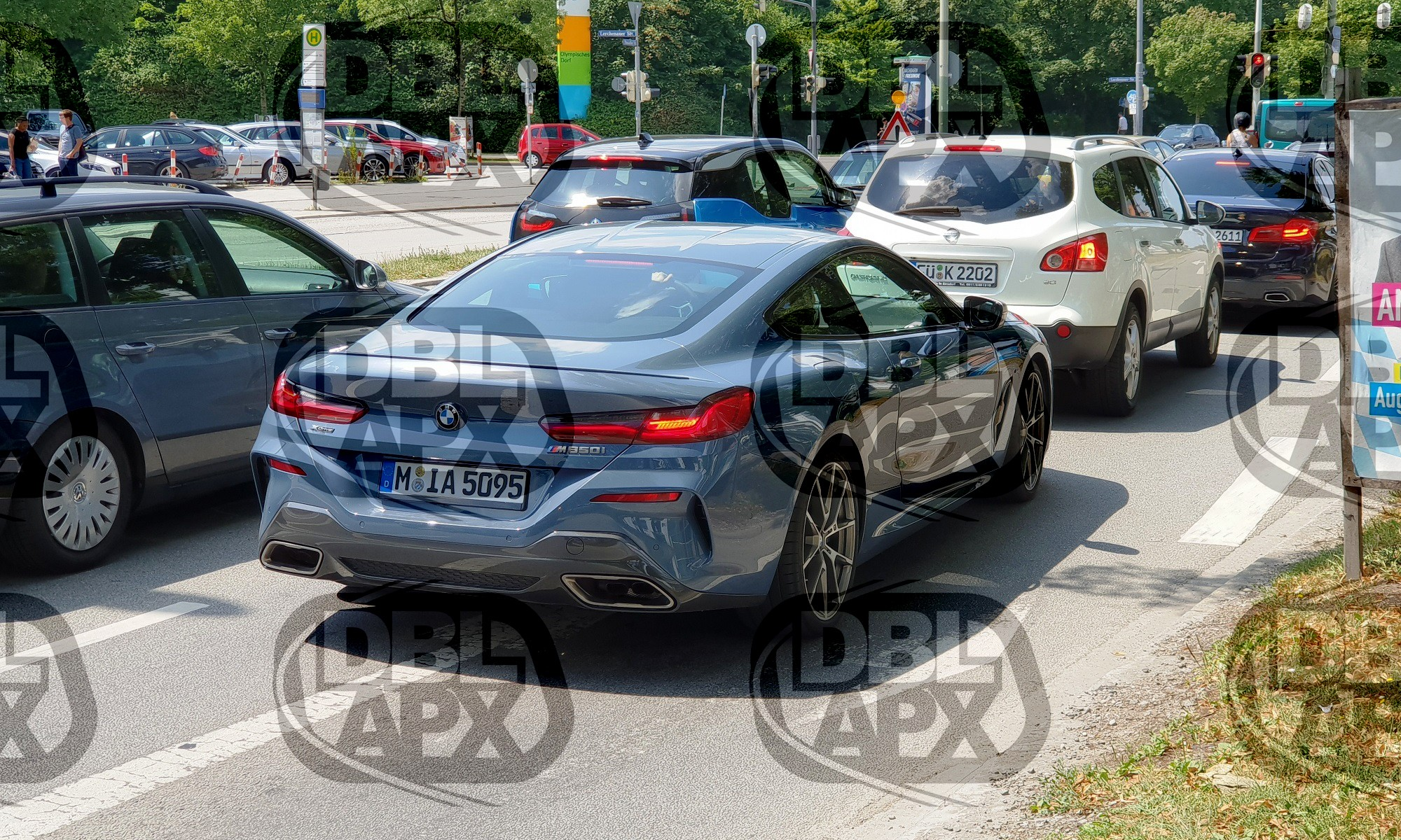 The new BMW 850i