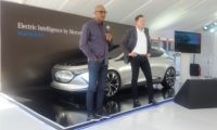 Mercedes-Benz CEO (right) and Selvin Govender