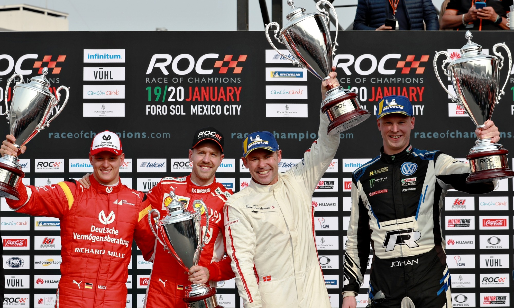 2019 Race of Champions, Nations Cup winners