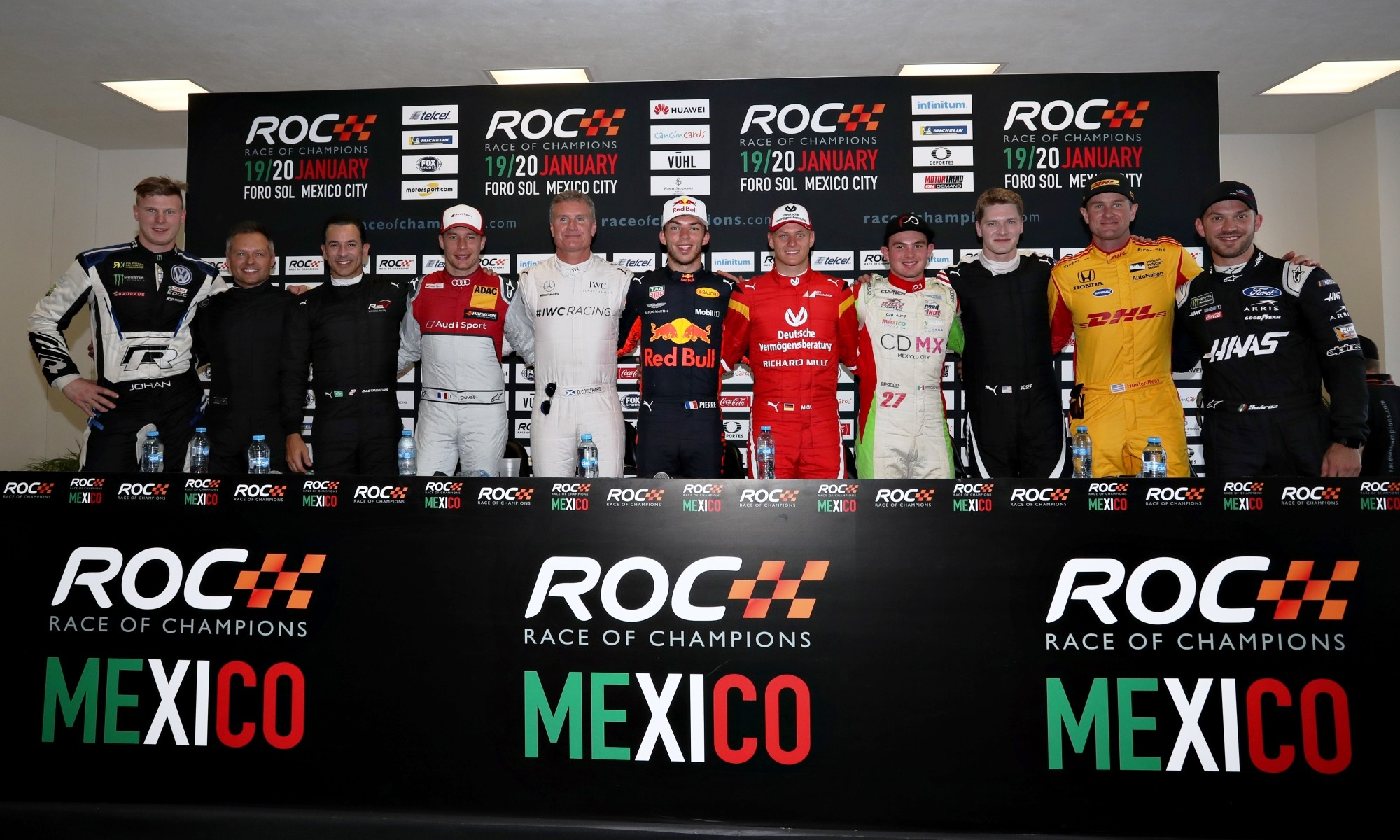 2019 Race of Champions driver line-up
