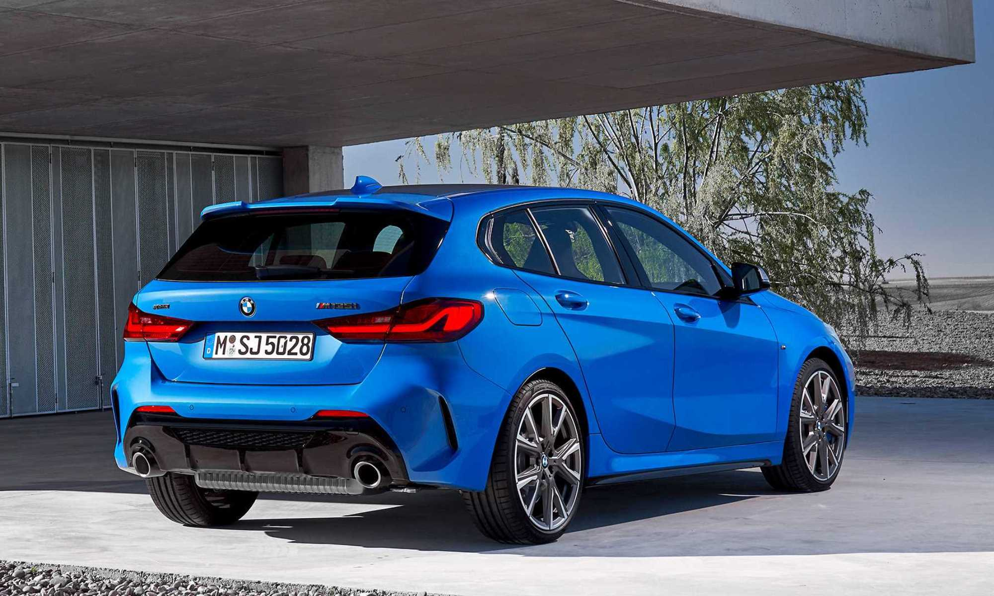BMW M135i hatchback rear