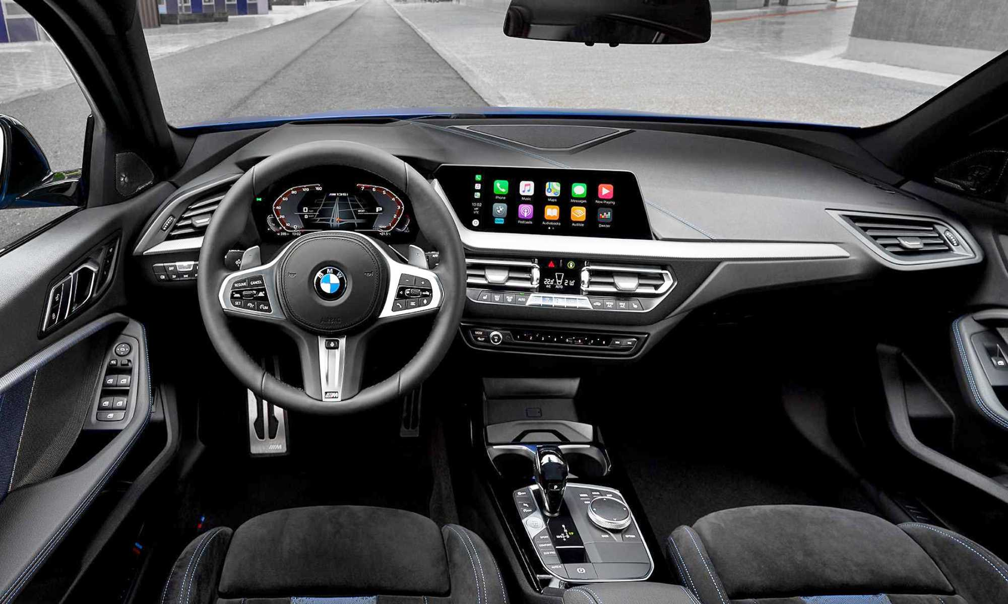 BMW M135i hatchback interior