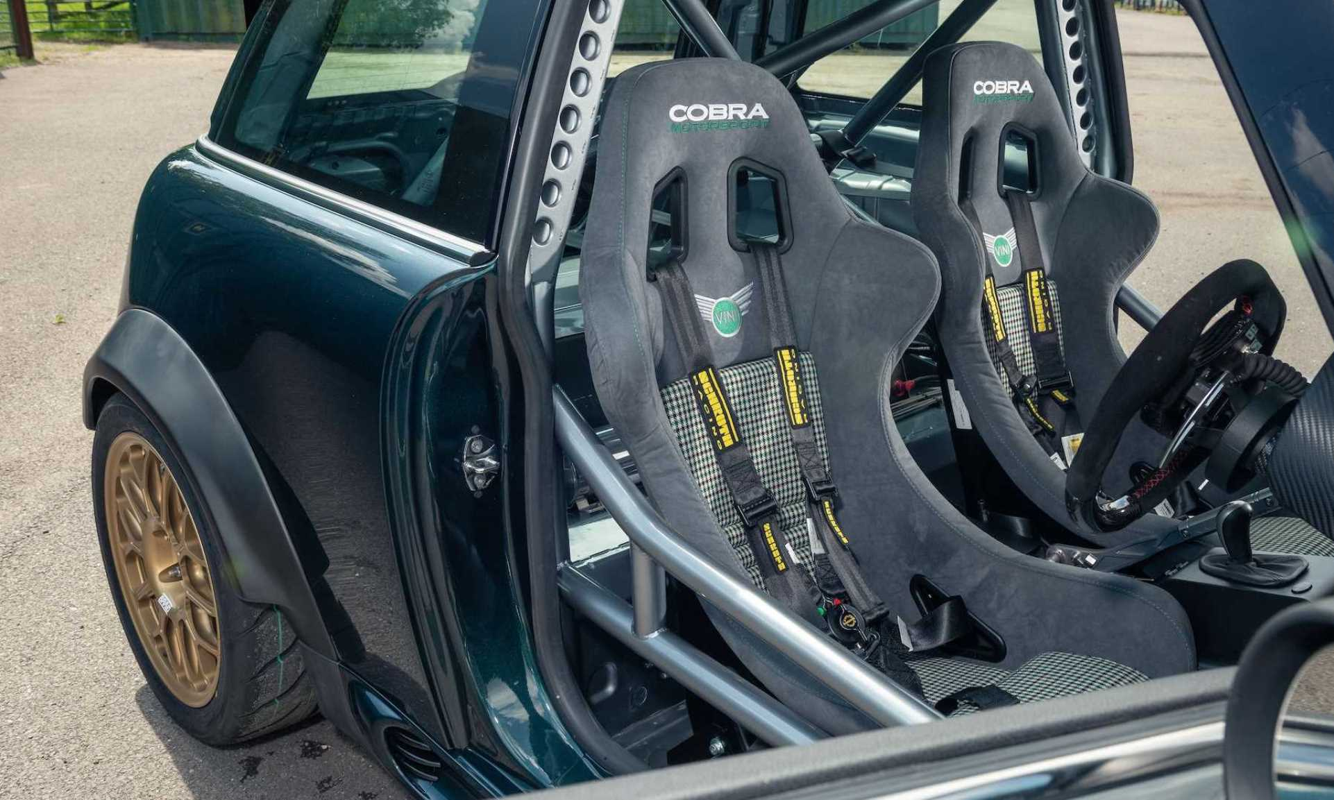 BMW V8-Engined Mini cabin