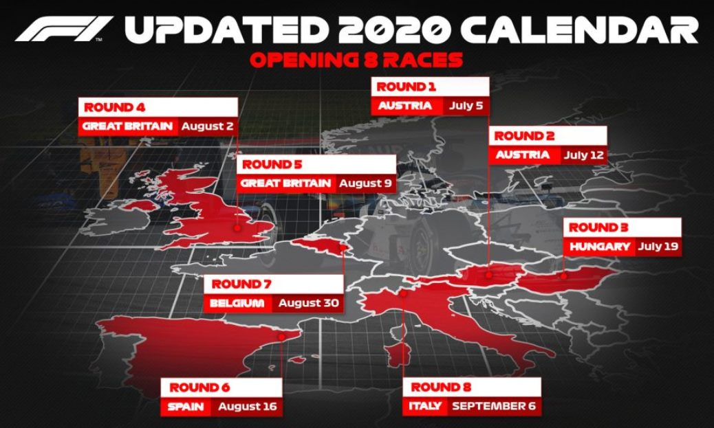 2020 Formula One Season Start