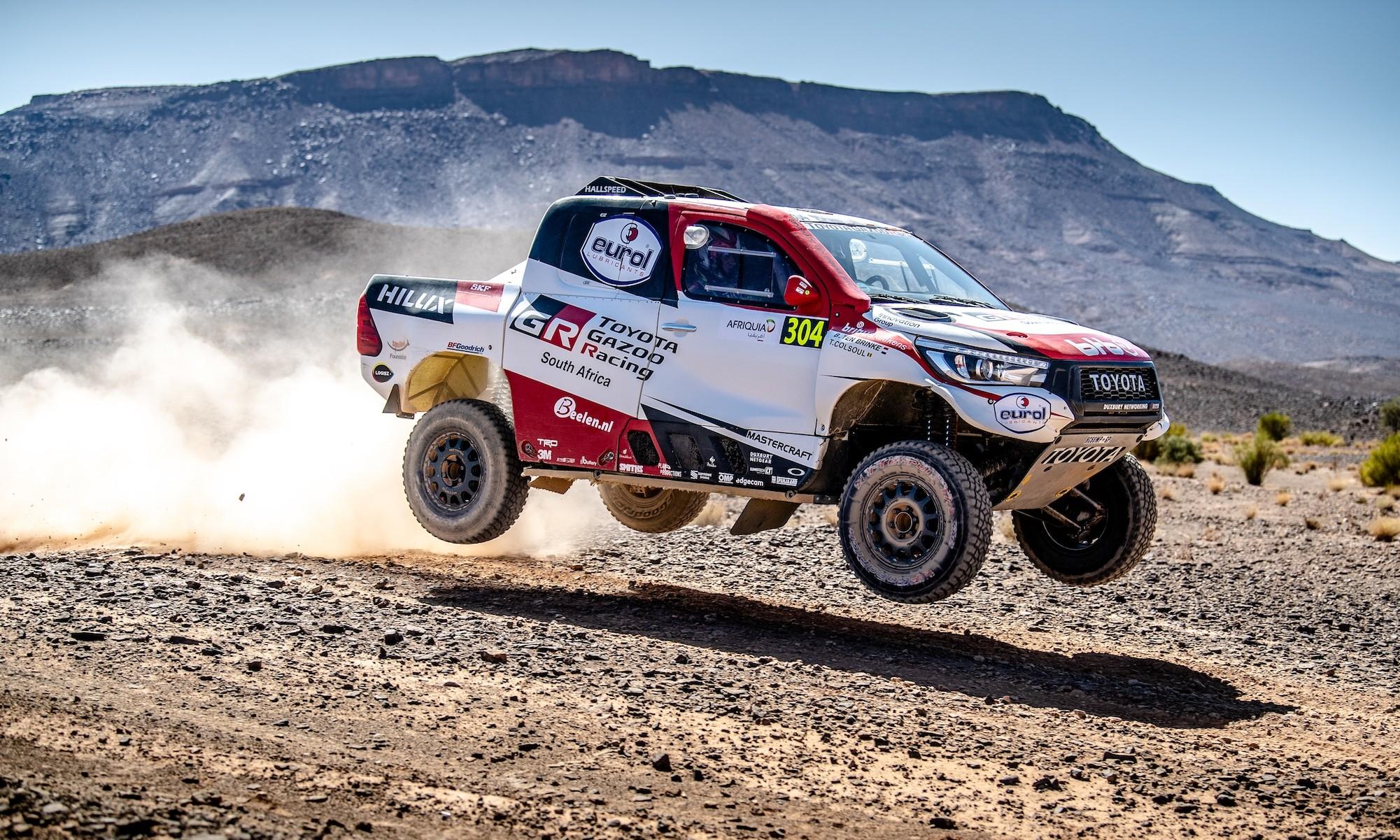 2020 Toyota Dakar Team