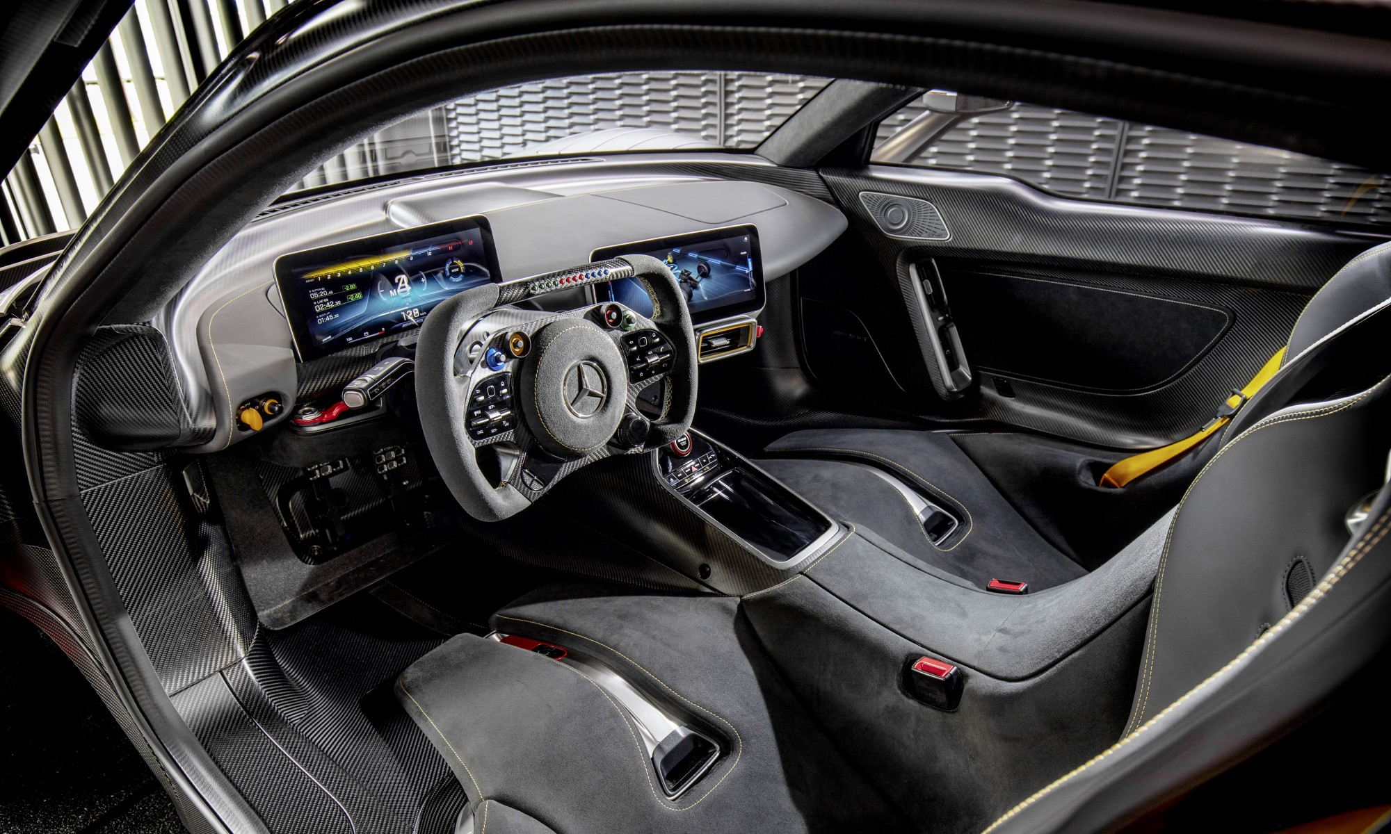 Mercedes-AMG One interior