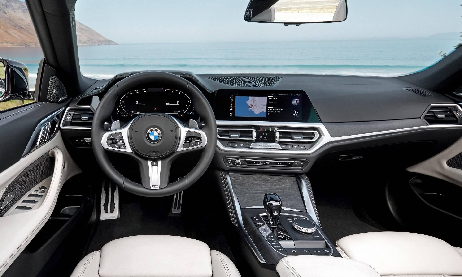 4 Series Convertible interior
