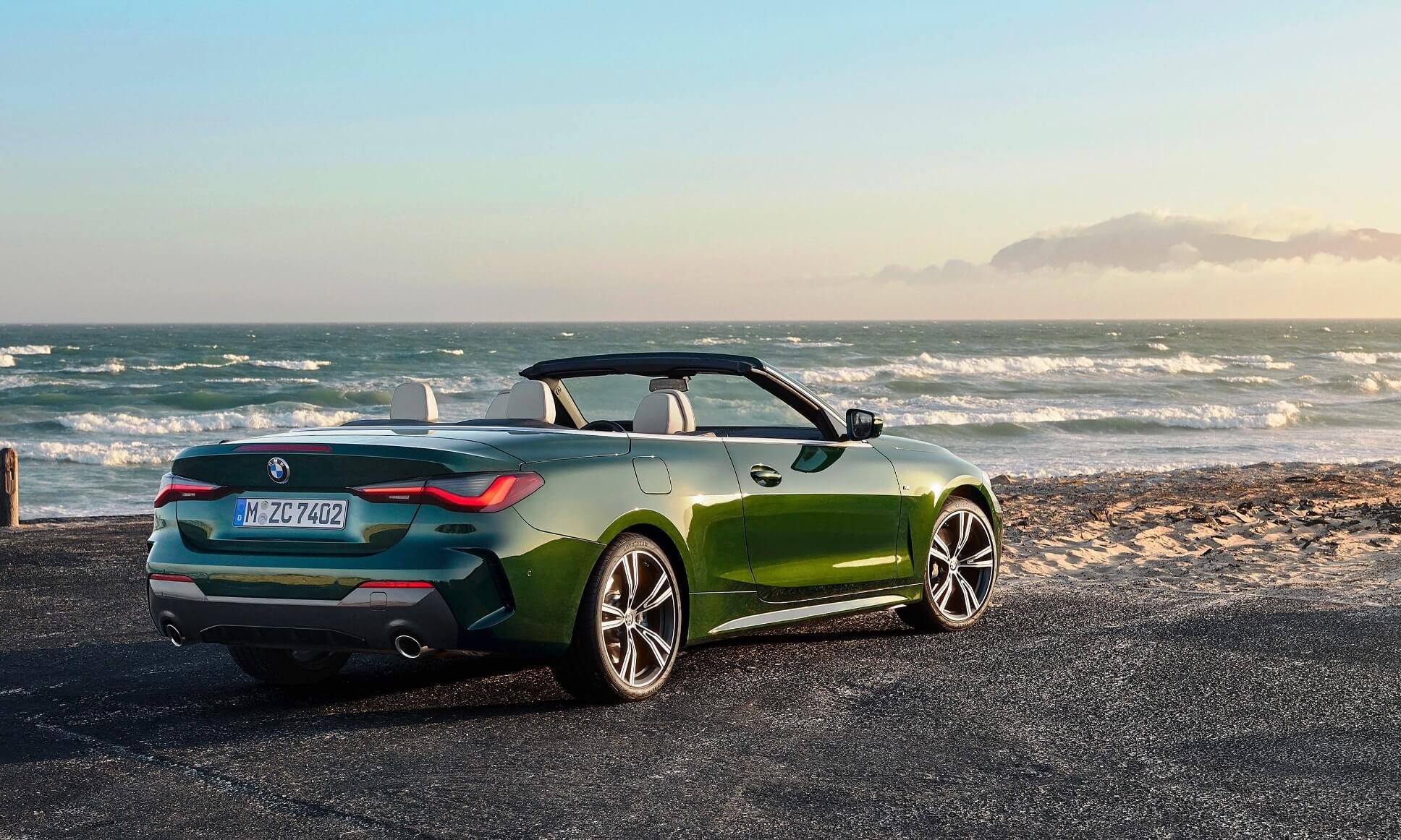 BMW 4 Series Convertible rear