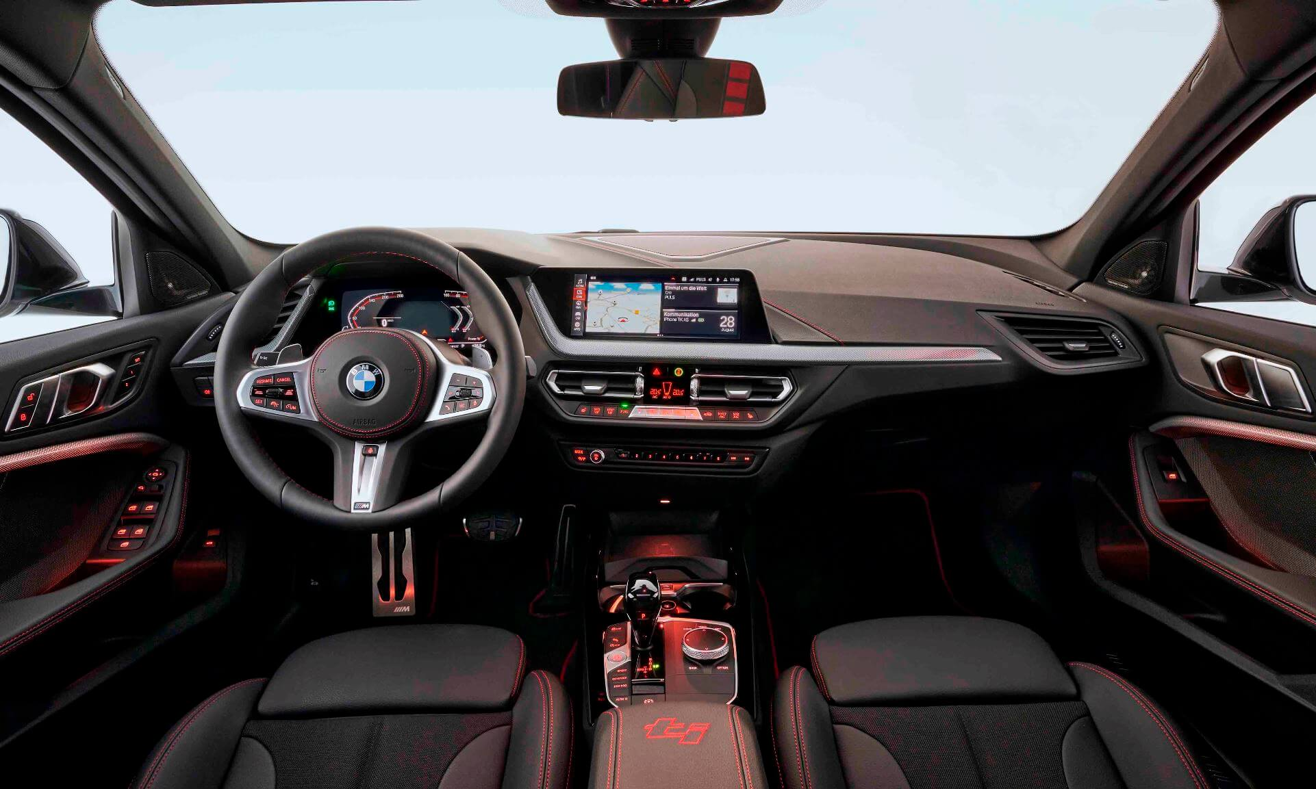 BMW 128ti interior