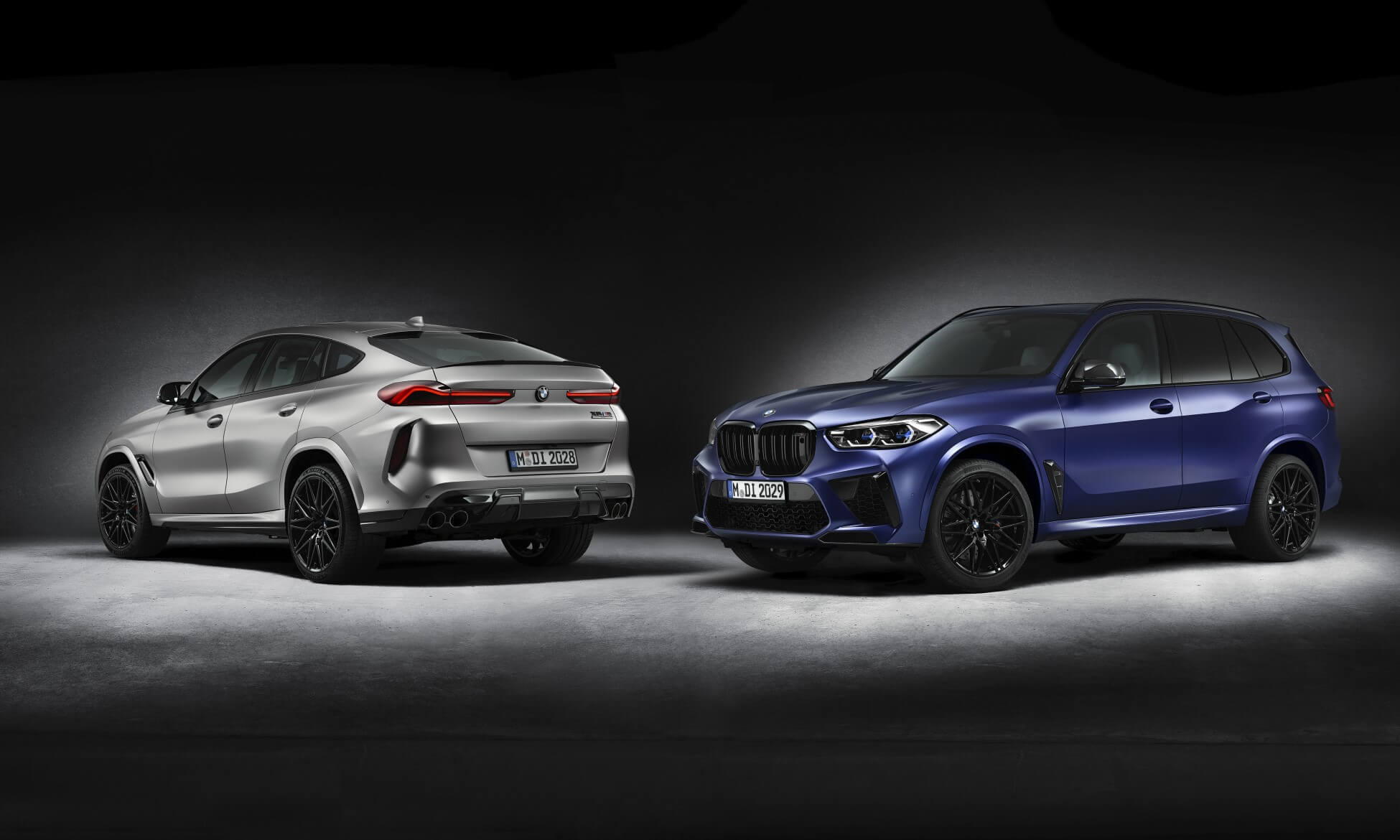 First Edition BMW X5M Competition and X6M Competition