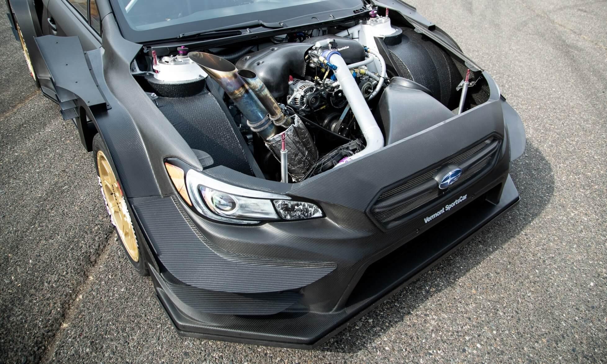 Gymkhana Subaru engine