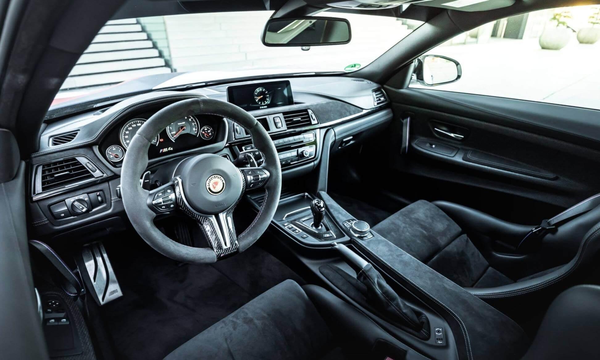 Manhart MH4 GTR interior