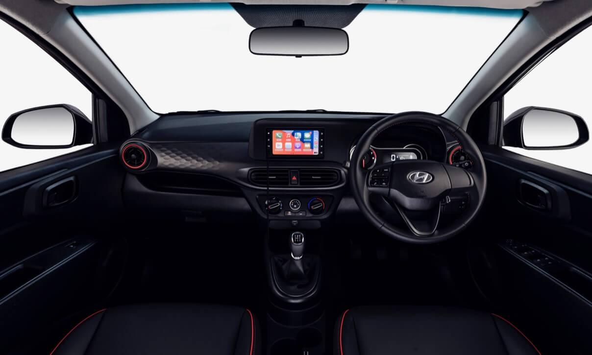 New Hyundai Grand i10 interior