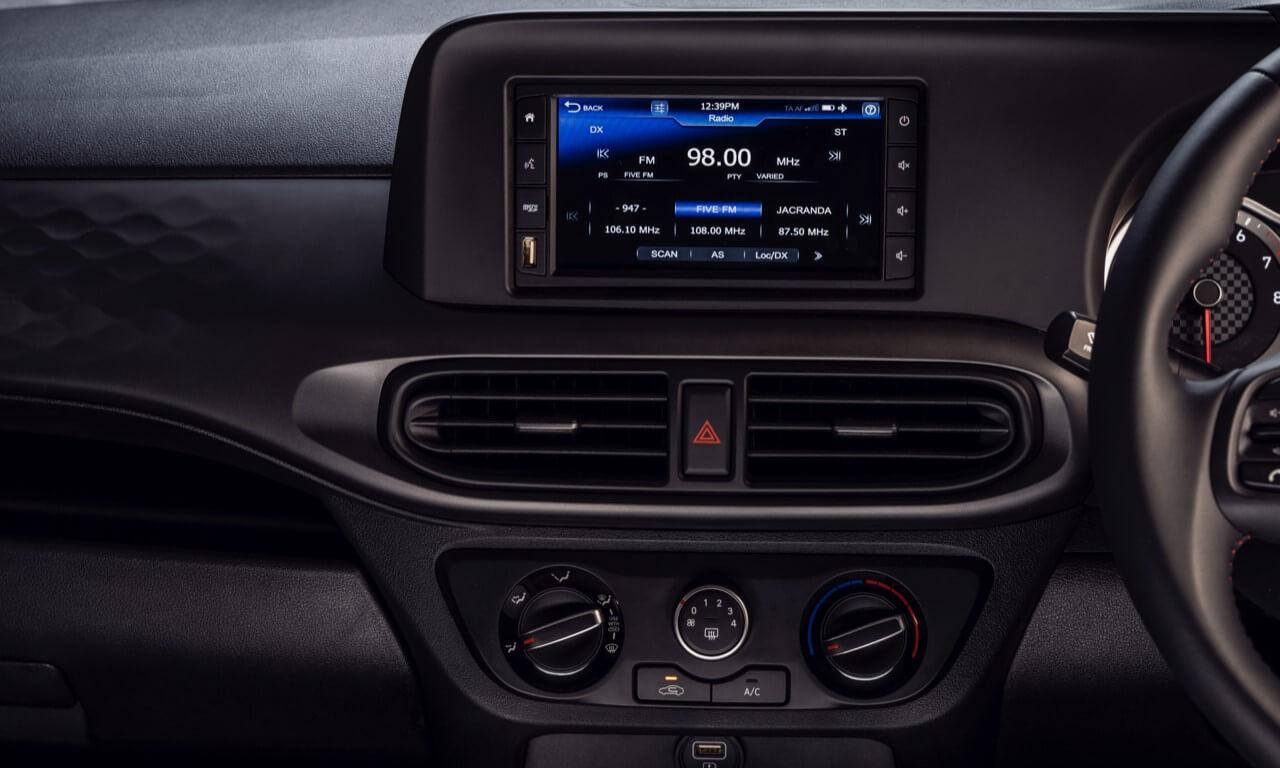 New Hyundai Grand i10 radio