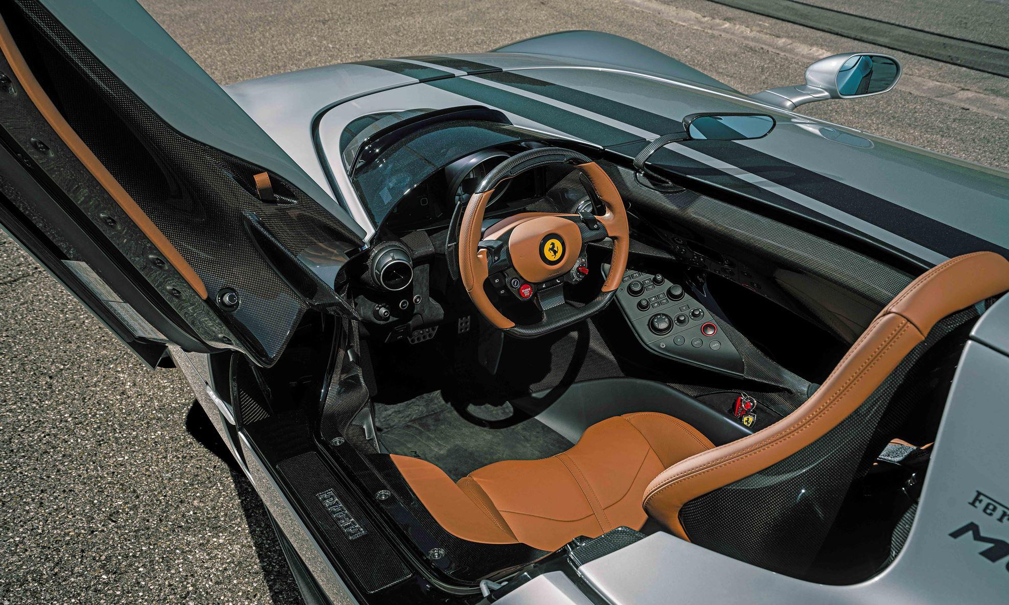 Novitec Ferrari Monza SP1 interior