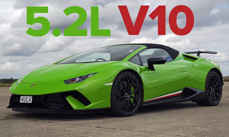 Performance Lamborghini Drag Race Huracan