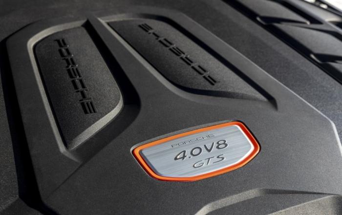 Porsche Cayenne GTS Coupe engine