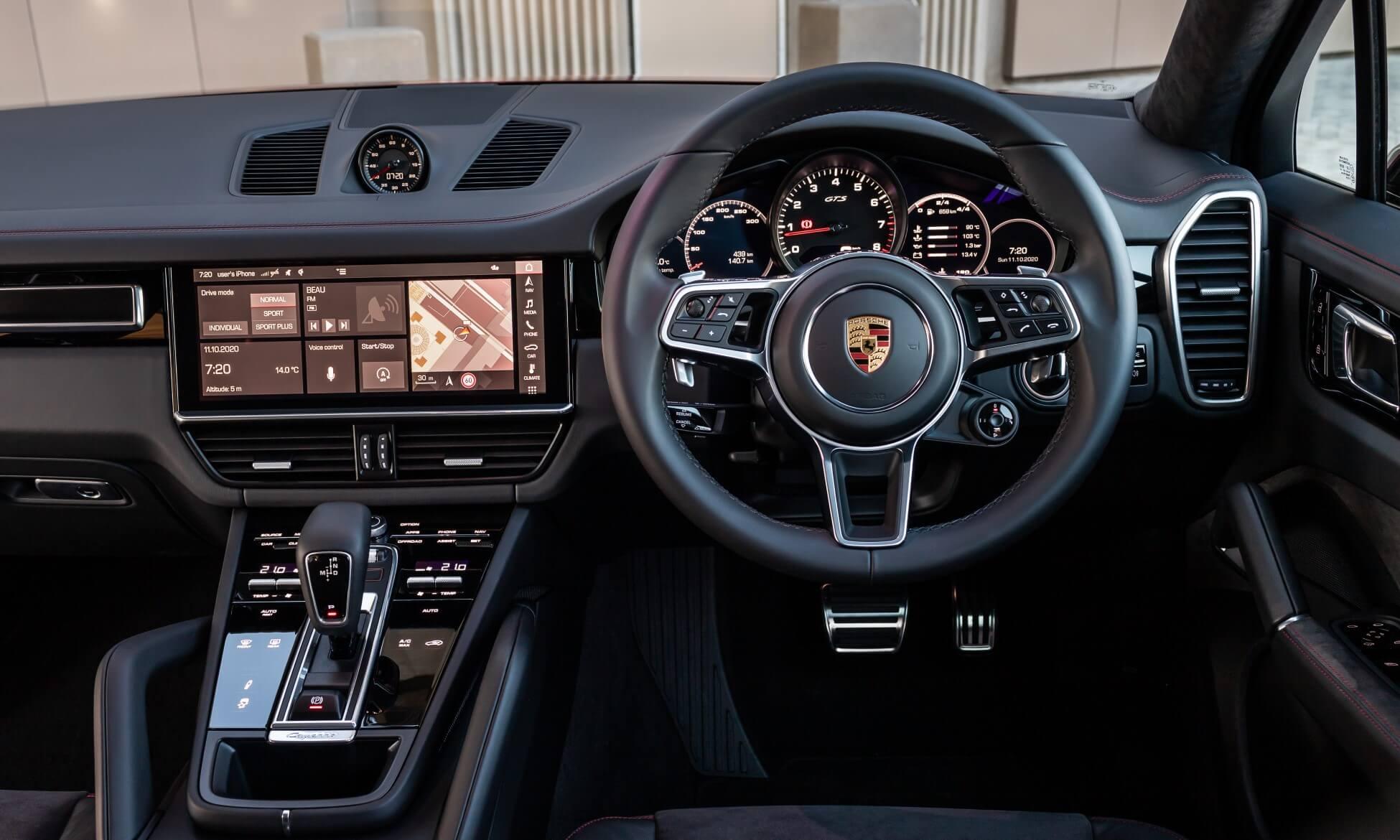 Porsche Cayenne GTS Coupe interior