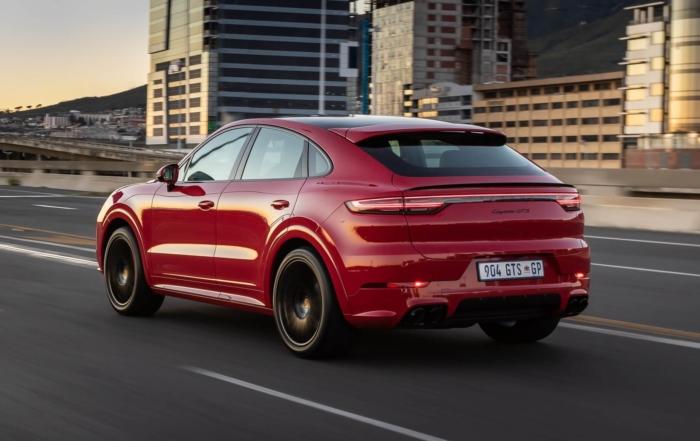 Porsche Cayenne GTS Coupe rear