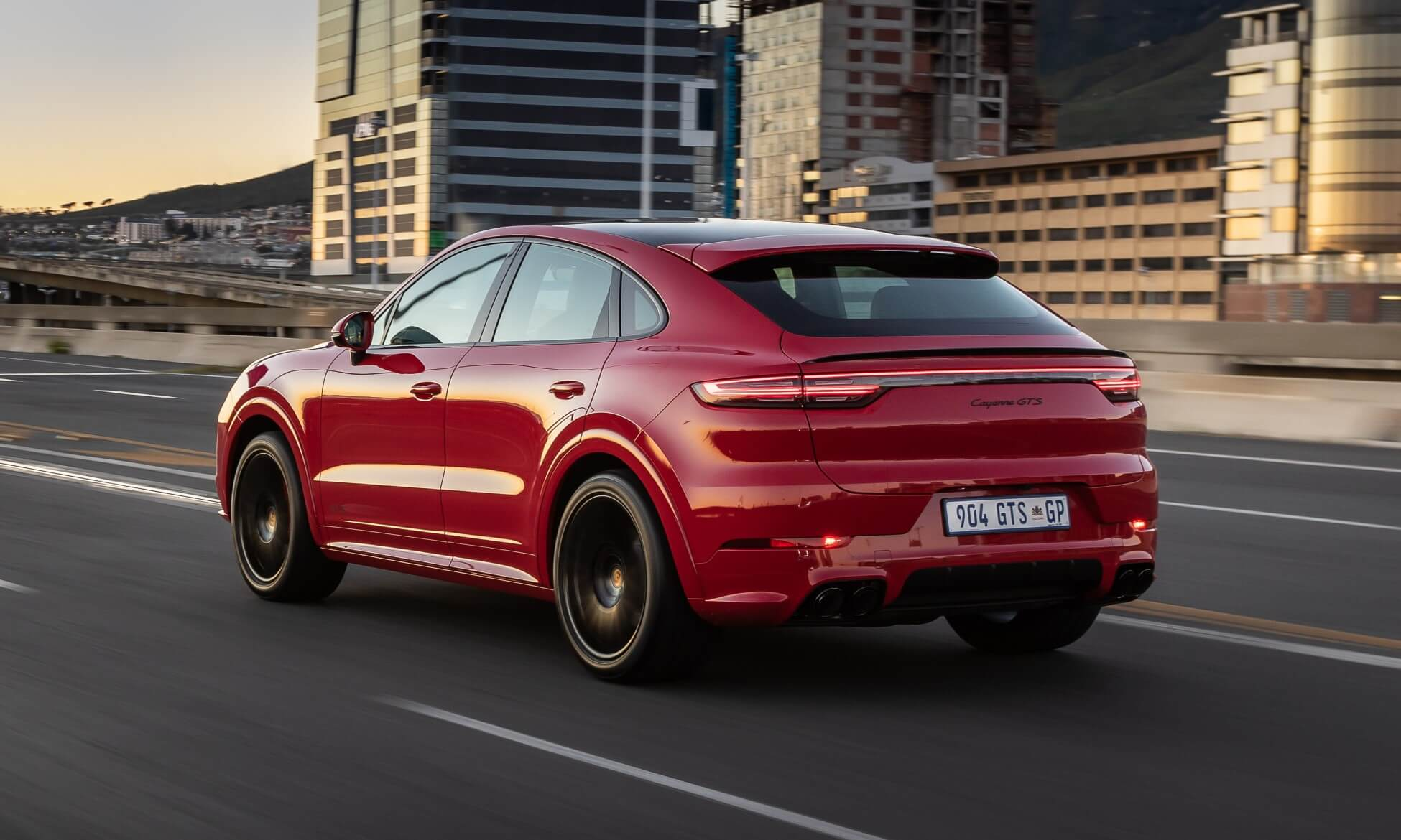 Porsche Cayenne GTS Coupe rear