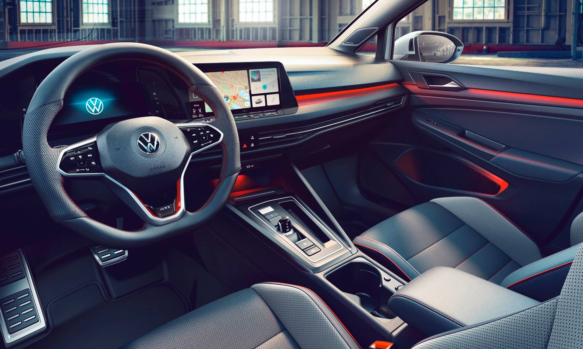 VW Golf GTI Clubsport interior