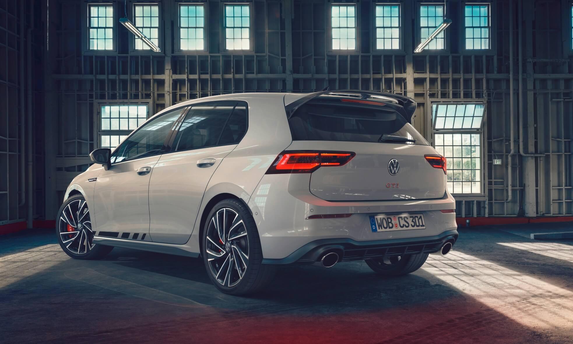 VW Golf GTI Clubsport rear