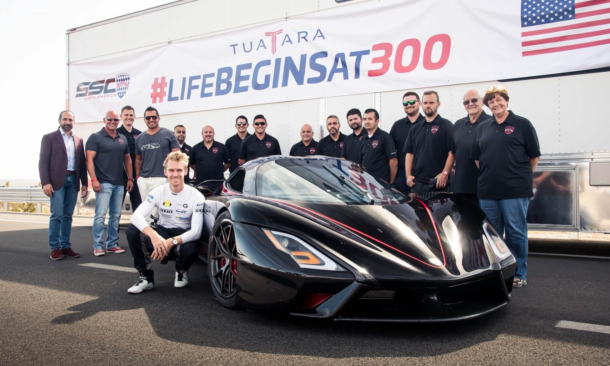 World's fastest car team