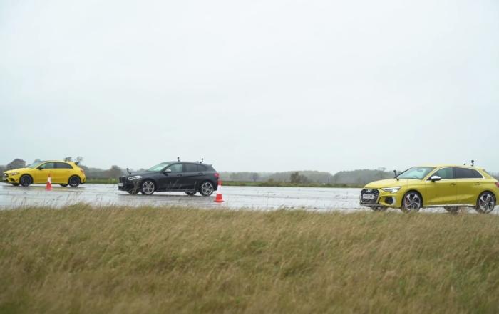 AWD Hot Hatch Drag Race