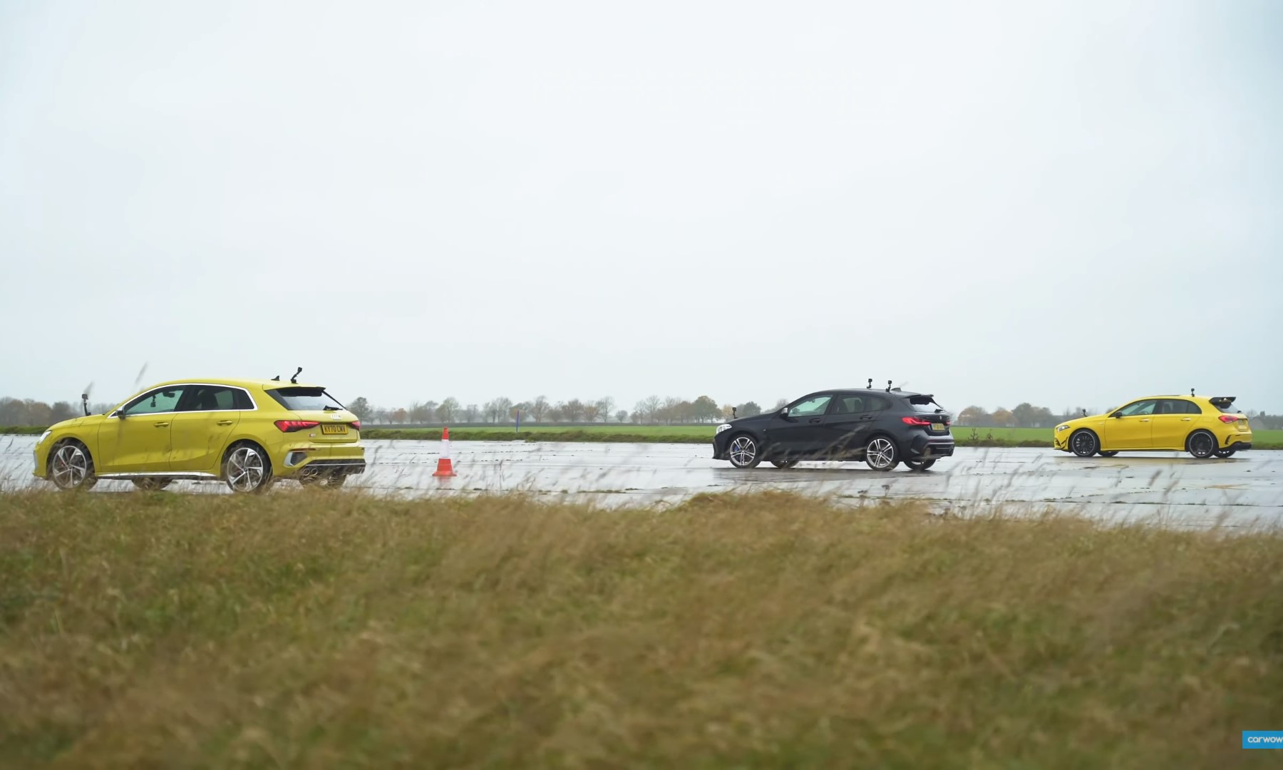 AWD Hot Hatch Drag Race rear