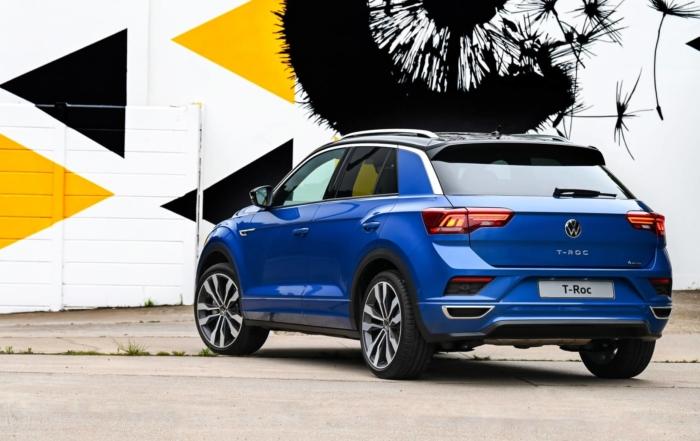 All-new VW T-Roc rear