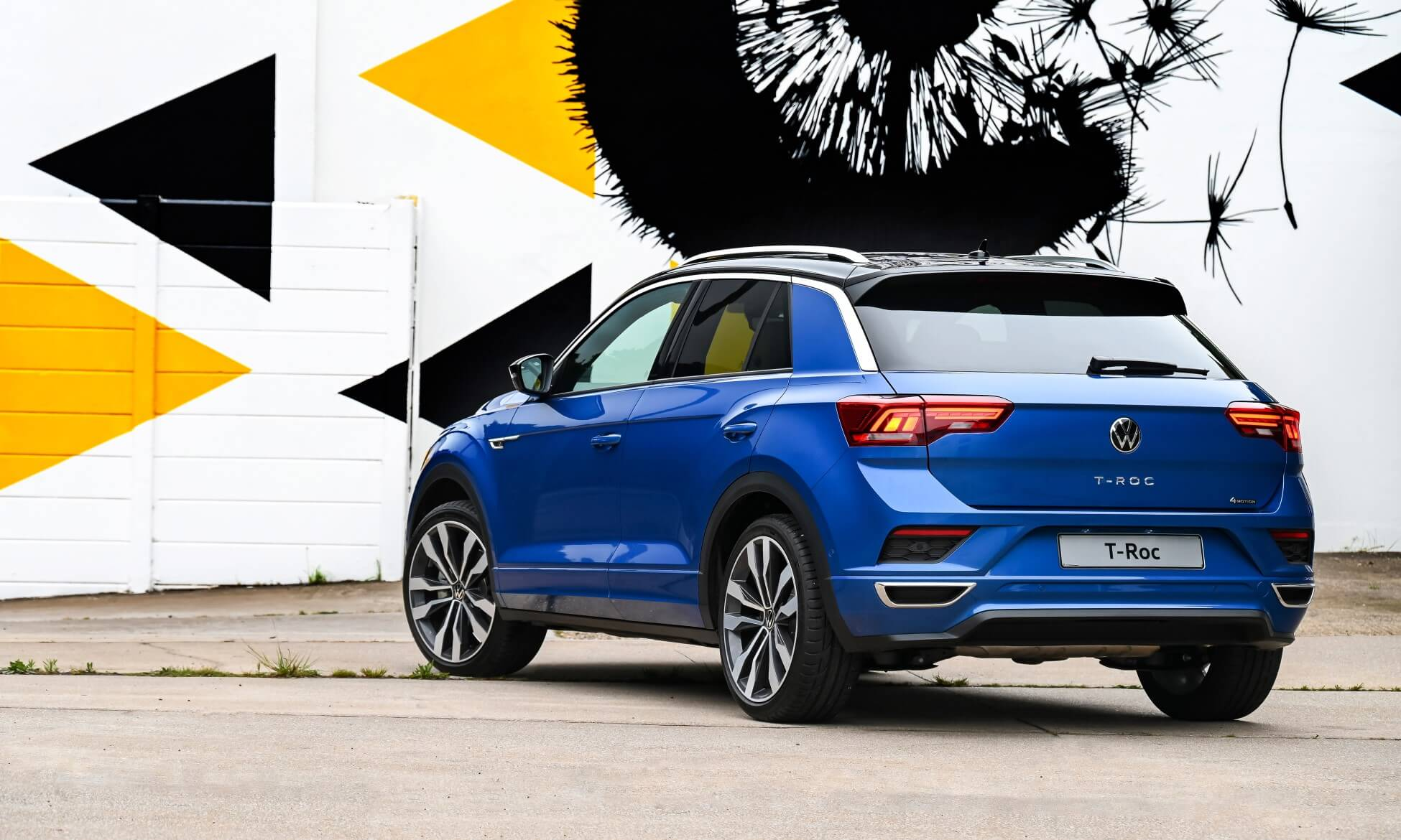 All-new VW T-Roc rear