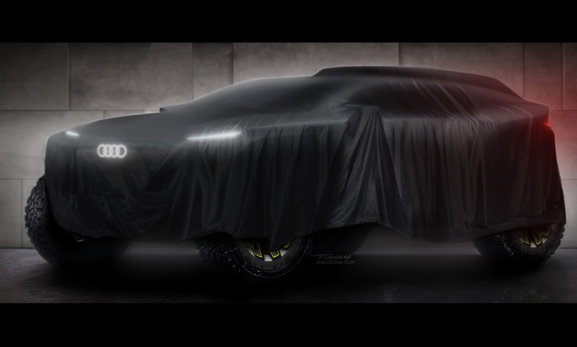 Audi to Dakar Rally