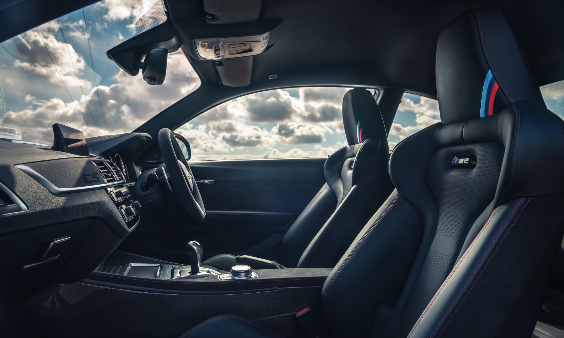 BMW M2 CS Driven interior
