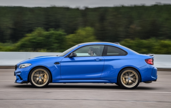 BMW M2 CS Driven profile