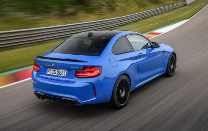 BMW M2 CS Driven rear