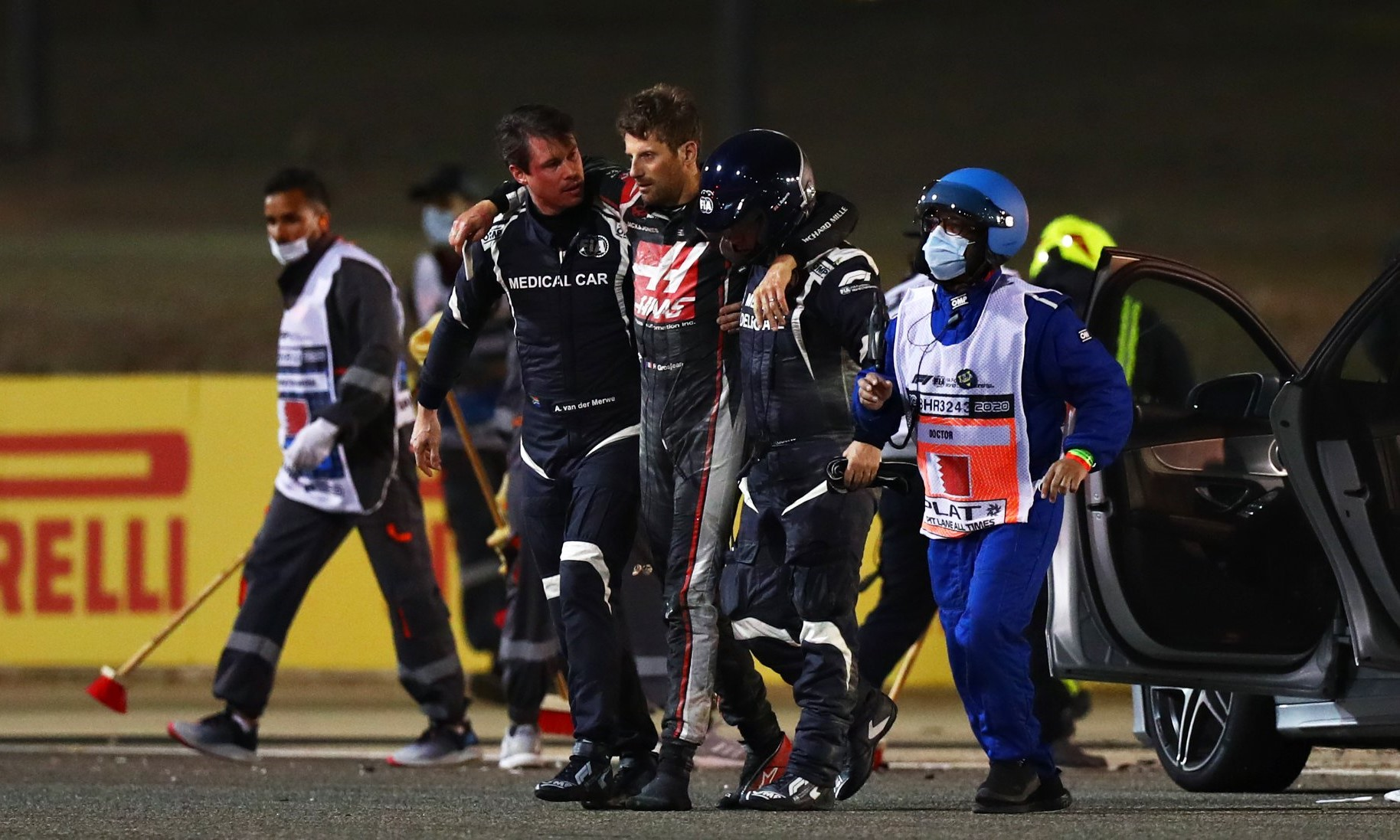 F1 Review Bahrain 2020 Romain Grosjean (Image F1 via facebook)