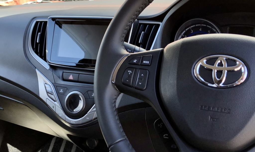 Toyota Starlet 1,4 Xr interior