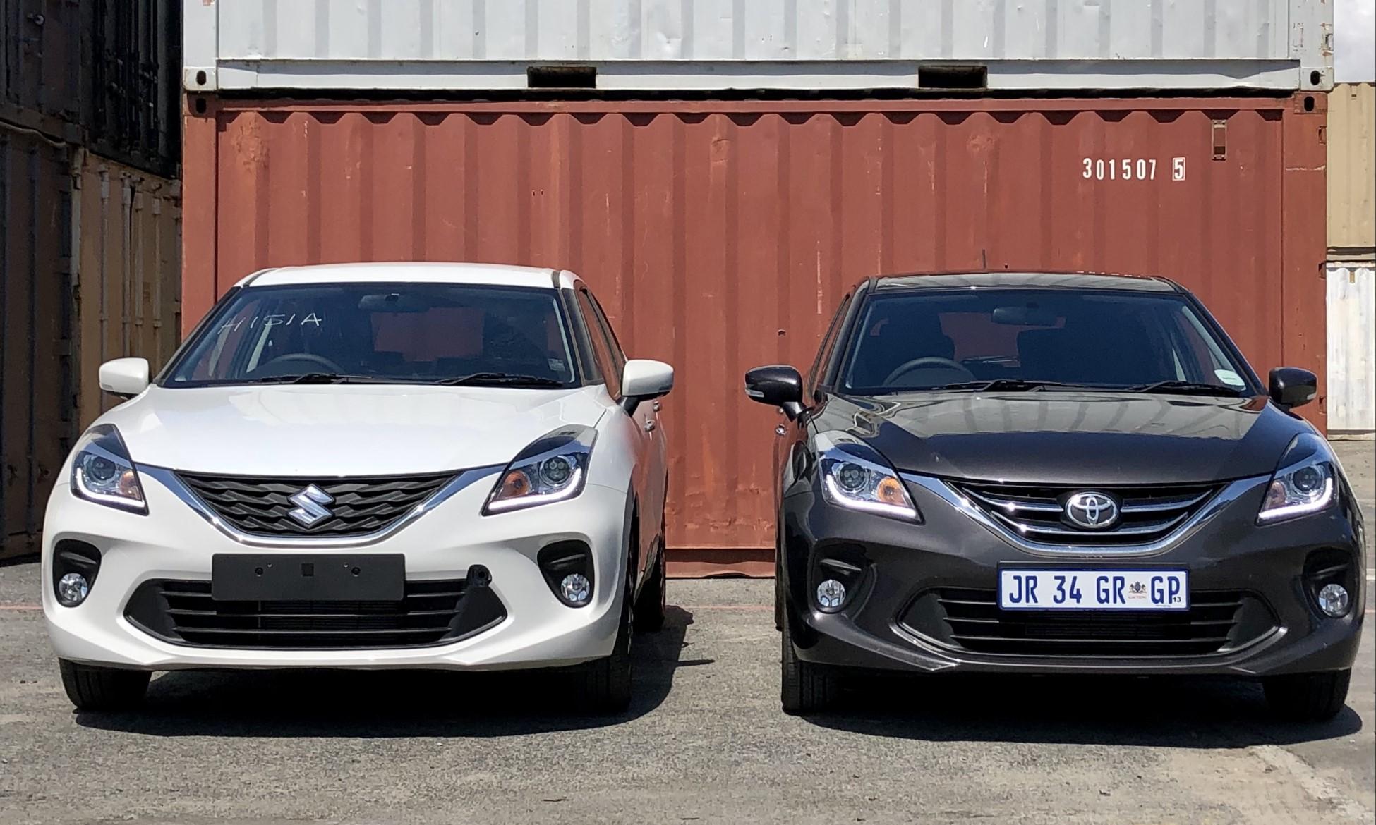 Toyota Starlet 1,4 Xr and Suzuki Baleno