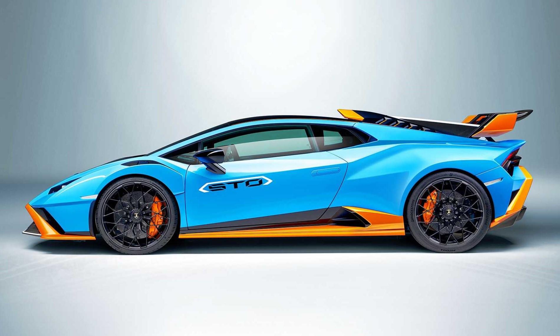 Lamborghini Huracan STO profile