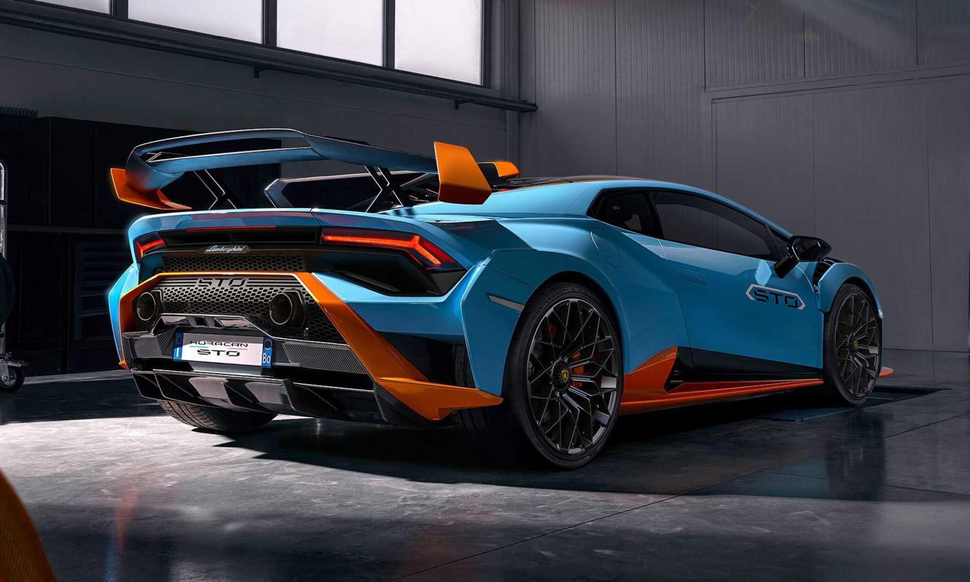 Lamborghini Huracan STO rear
